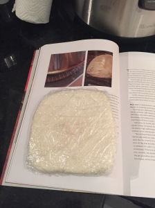 Step 11 - Wrap paneer tightly if not using right away.