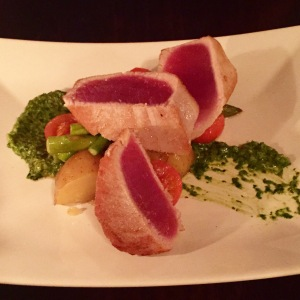 Daily Special - Seared Yellowtail